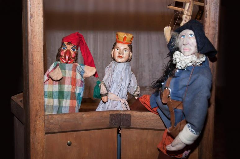 Puppentheater selber bauen